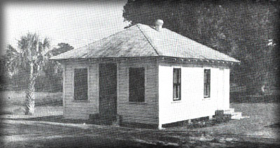 Oak Hill, Florida, City Jail In 1926, on 123 E. Halifax Ave.