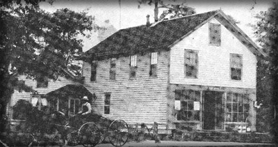 General Country Store, 1911, owned and built by W.C. Howse, then L.L. Mosby, then Van Buren Baldwin, until it burned in 1925