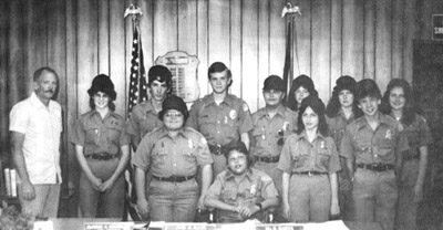 Left to right:  front row, Dalvin Goodrich, Travis Yelvington, Kathy Clark, Tommy Yelvington - Back row:  James Goodrich, Valerie Goodrich, James Goodrich Jr., David Dewees, William Thompson, Laurie Goodrich, Kathy Robinson, and Katy Robinson