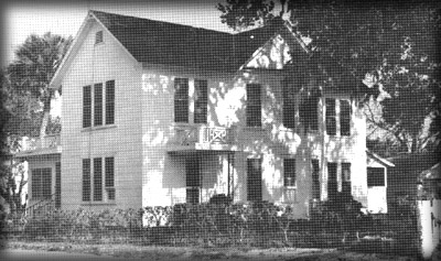 The Threlkeld home, built in 1900 is located on the corner of East Halifax and Ridge Road.