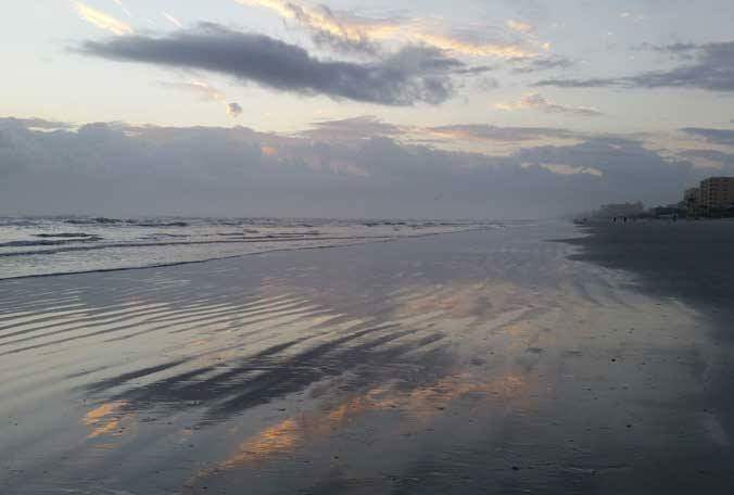 Sunset on New Smyrna Beach