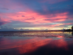 sunset in Volusia