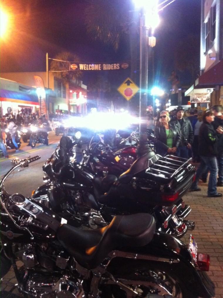 Biketoberfest in Daytona
