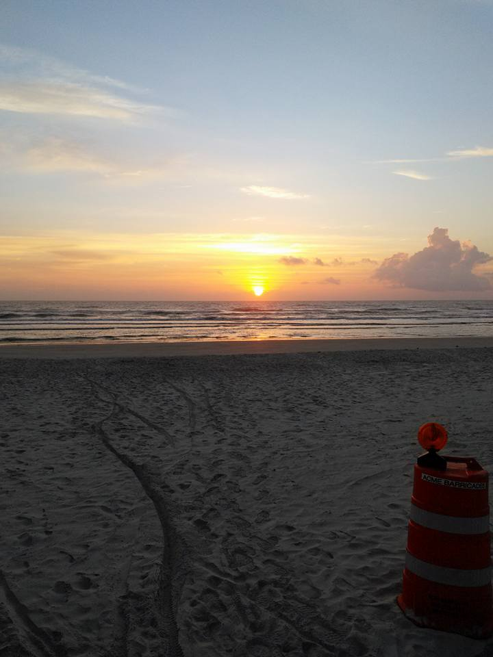 beach sunrise