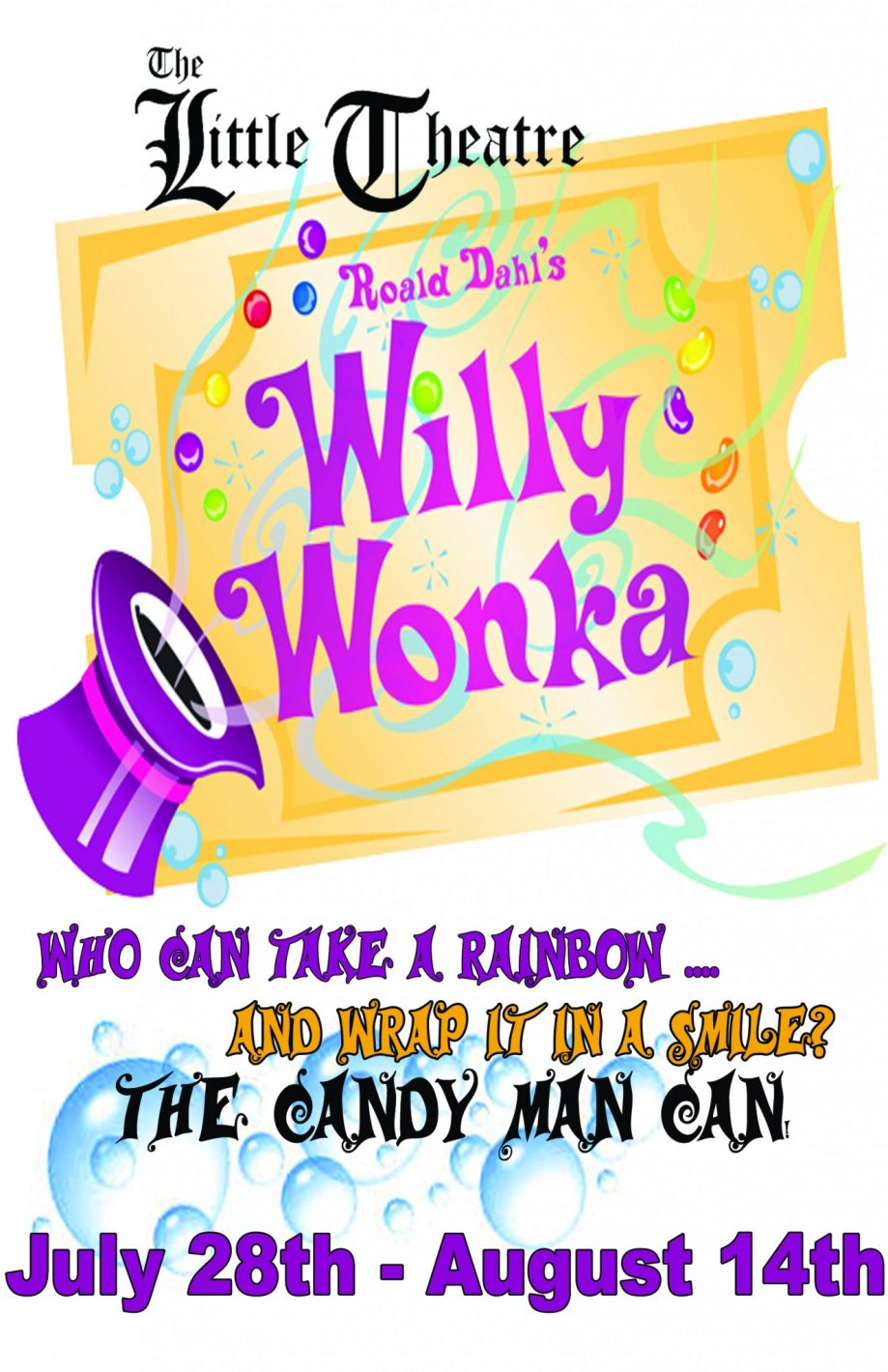 Dont Miss Willy Wonka At The Little Theater In New Smyrna Beach