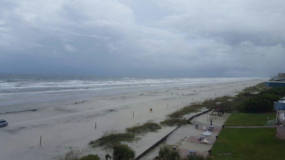 beach storms