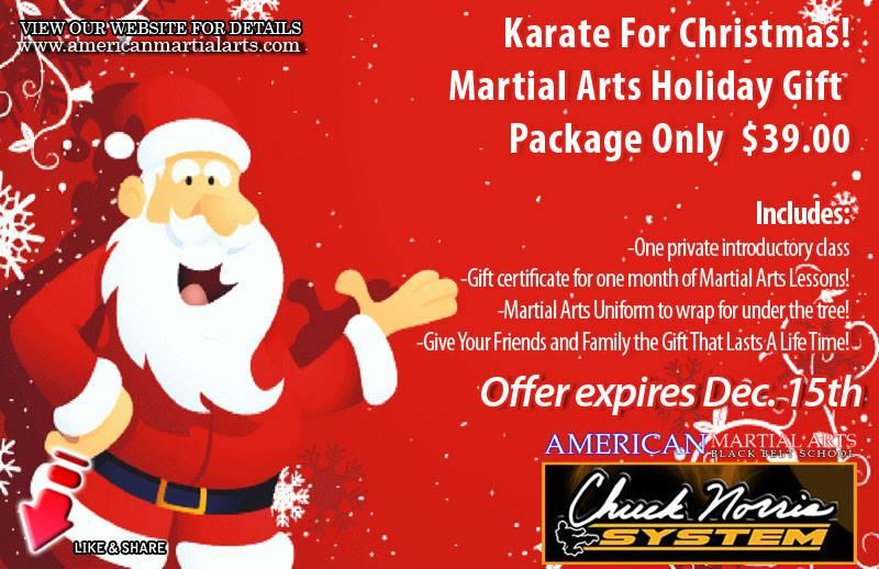 Karate for Christmas