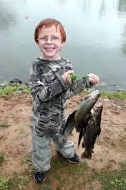 kids fishing this weekend